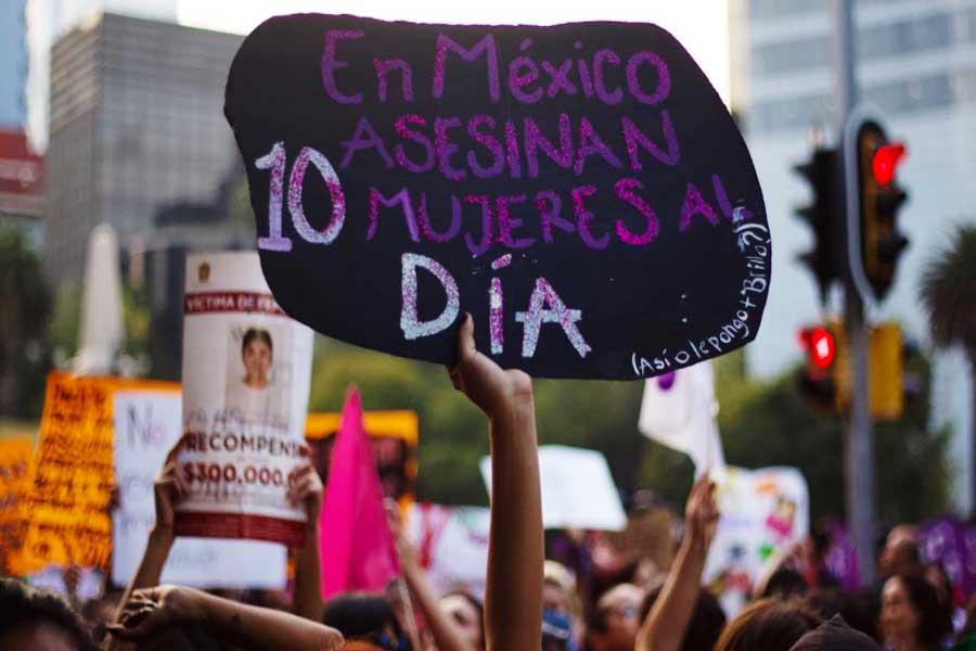 marcha feminista mexico