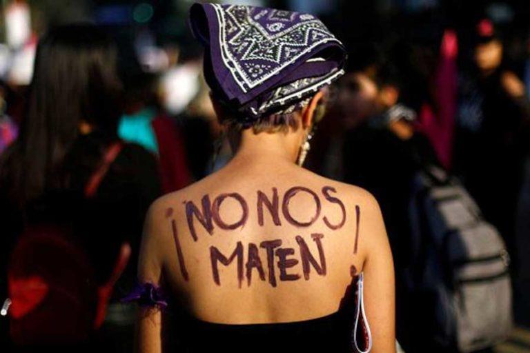 No nos maten feminicidios