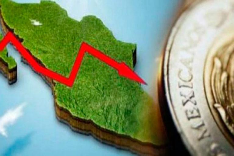 economia se desploma en México
