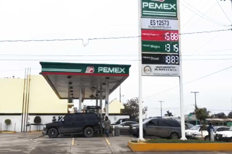 el engaño de la gasolina