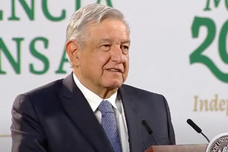 AMLO advierte a migrantes de los peligros de pasar por México_