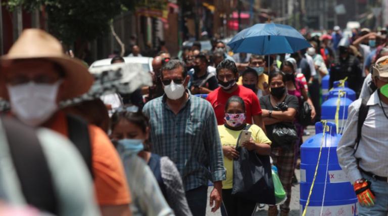 El PIB de México cayó 8.5% reveló el INEGI