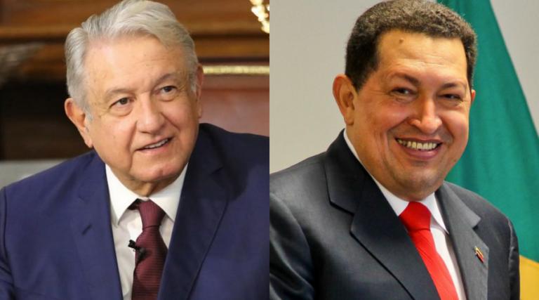 En qué se parece AMLO a Chávez