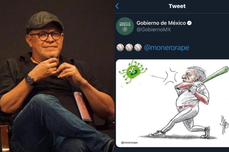 Gobierno de México falsea cartón de Monero Rapé y lo sube a redes