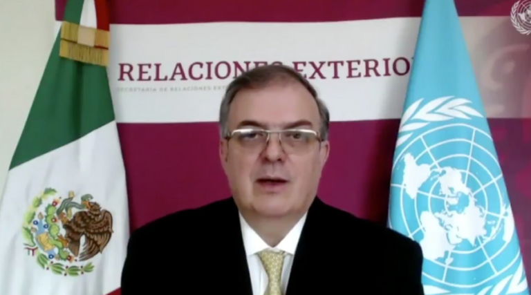 Gobierno de México pidió a la ONU cesar el acaparamiento de vacunas