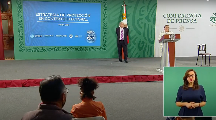 AMLO revela plan de protección a candidatos ante violencia