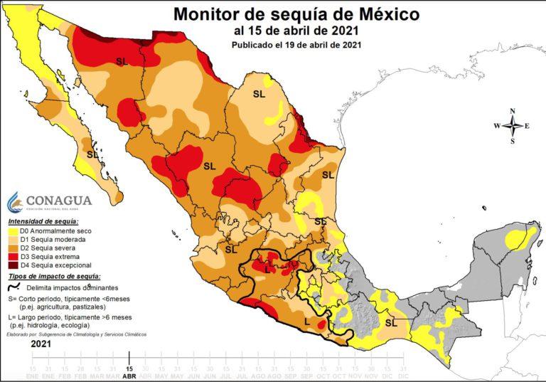 sequía en México