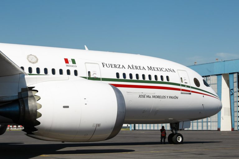 montajes avión presidencial