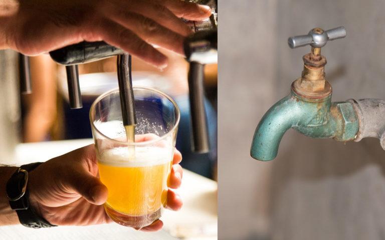 agua sequía indistria cervecera y refresquera