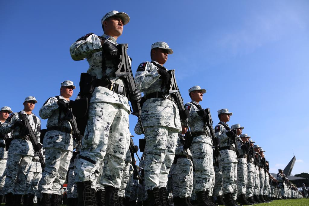 Robo de armas Guardia Nacional en Chiapas