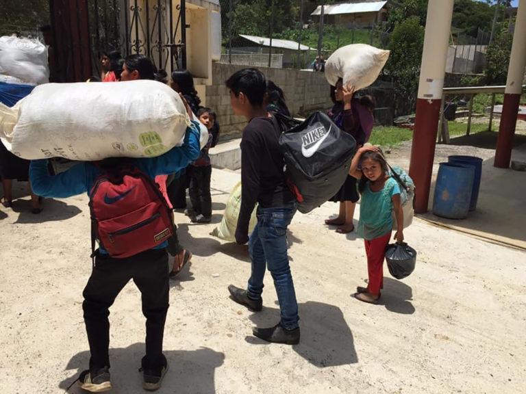 indígenas desplazados