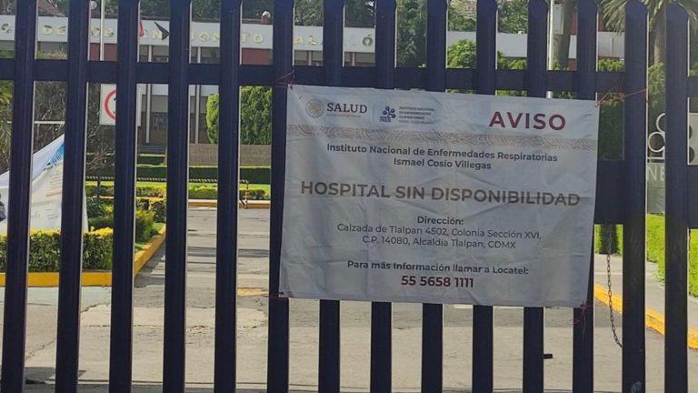hospital sin disponibilidad