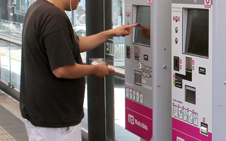 tarjetas bancarias metrobús