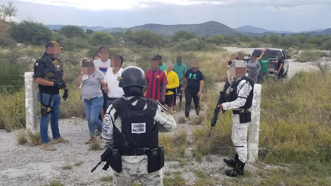 migrantes secuestrados en Matehuala