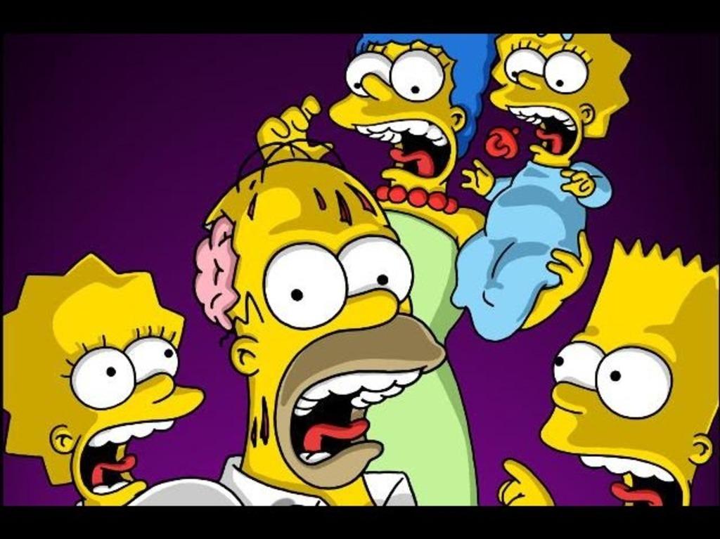 festival de la casita del terror de los Simpson