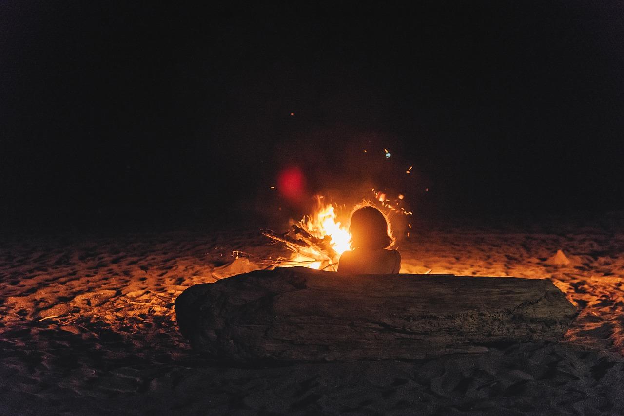 fuego mujer