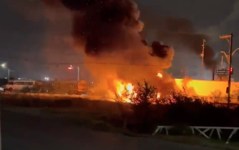 infierno en Tamaulipas Matamoros
