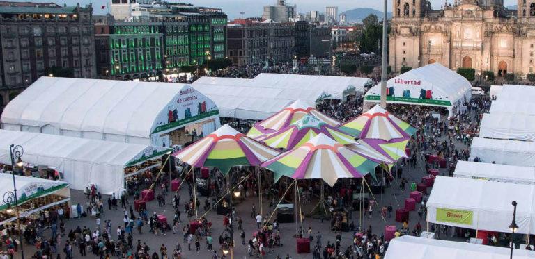 Empieza la Feria Internacional del Libro Zócalo 2021