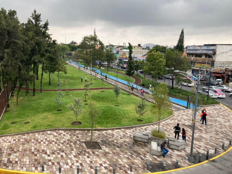 parque lineal de Iztapalapa